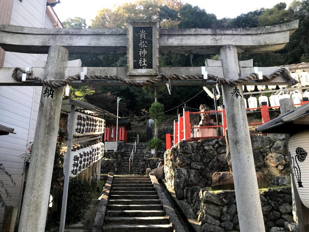 深泥池貴船神社は貴船神社が遠いので勧進されたそうです。