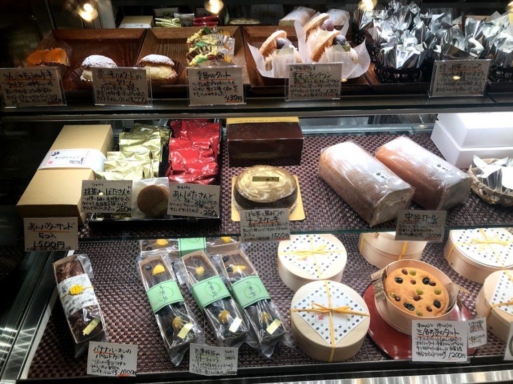 一乗寺中谷さんは元は丁稚羊羹のお店ですが現在は和菓子の素材を生かして洋菓子を販売されておられます。