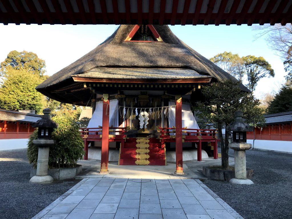 斎場所大元宮(吉田神道の霊場) 毎月1日解放されている